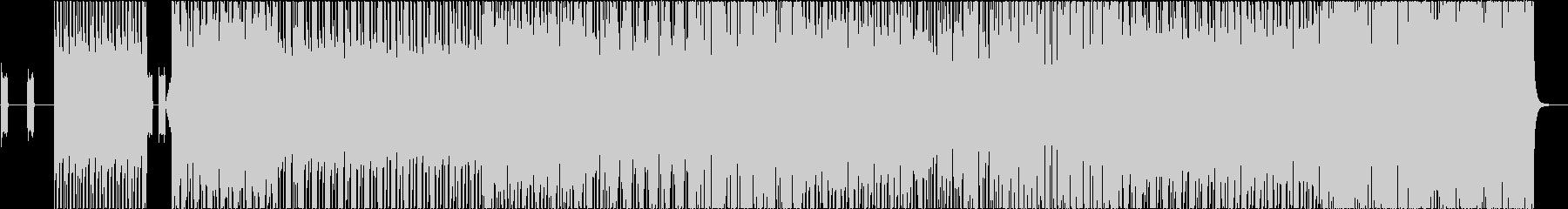 サイバーなハウスミュージック♪の未再生の波形