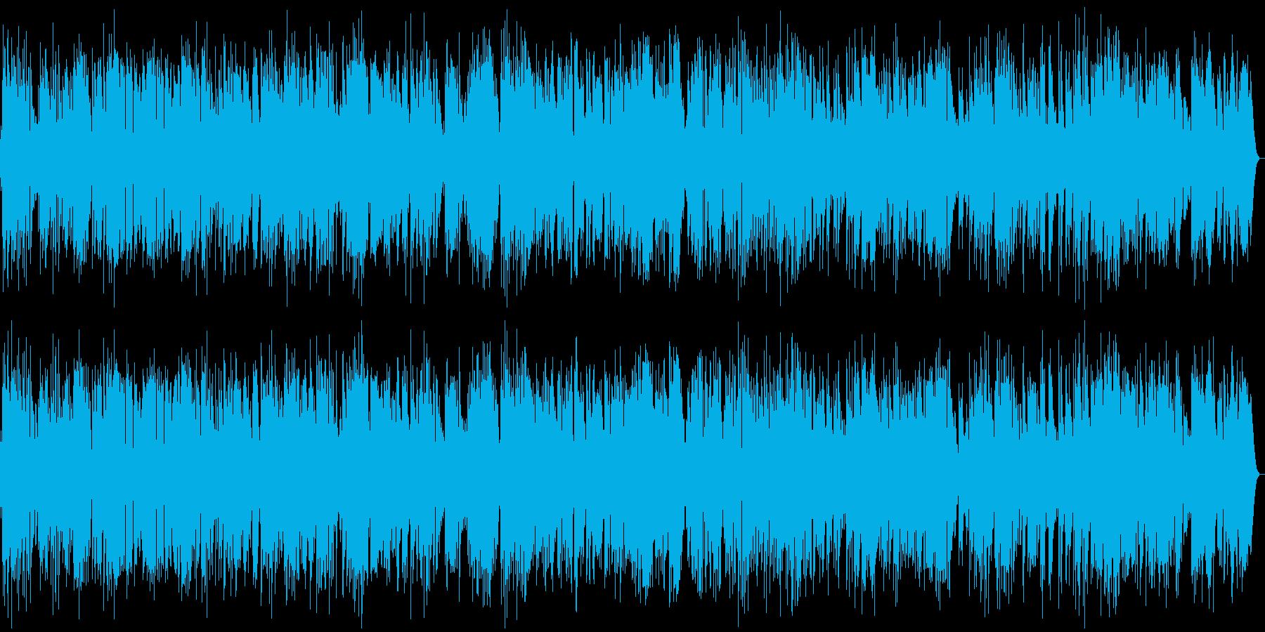 ギターを使ったお洒落なジャズの再生済みの波形