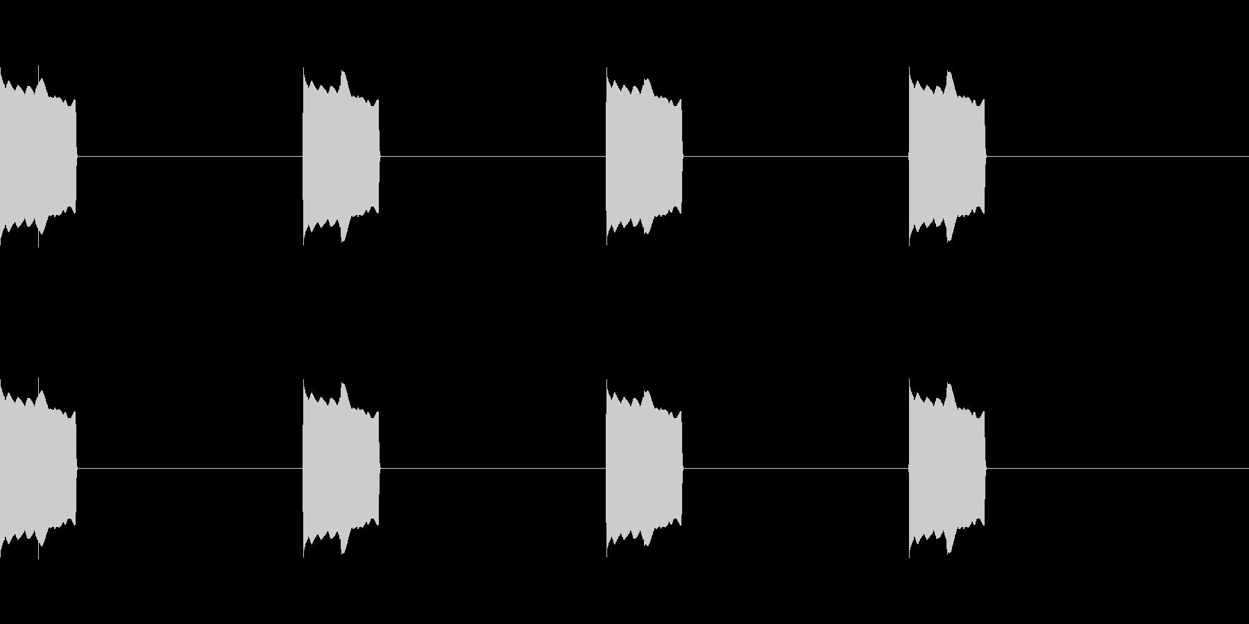 レーダー反応01の未再生の波形