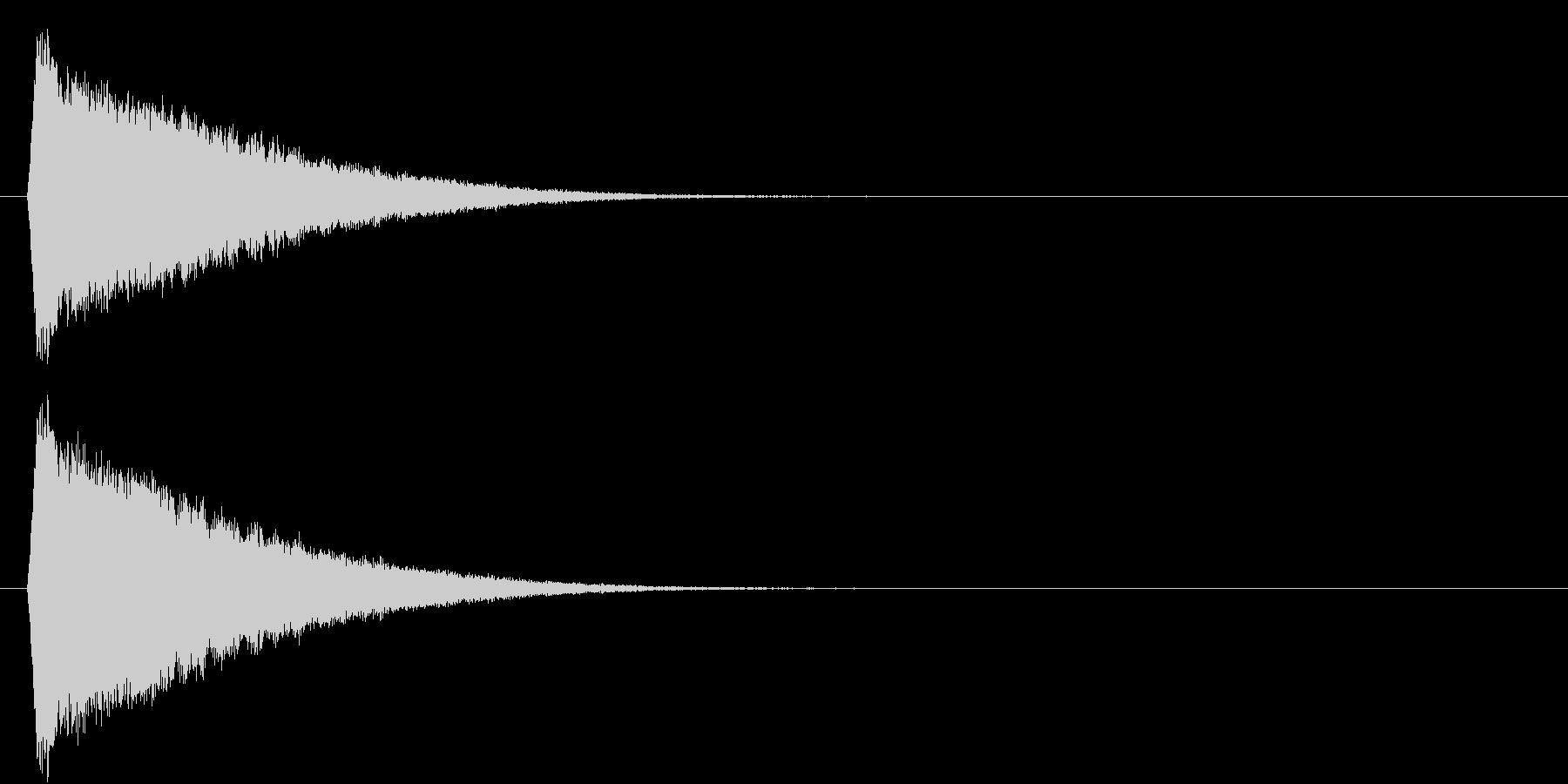 キラキラ…(流れ星、下降、かわいい)の未再生の波形