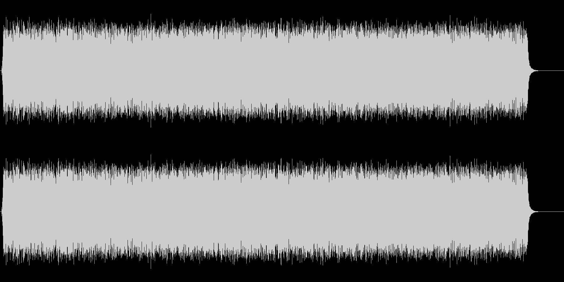 ジリリリリリリリリリン…朝の音の未再生の波形