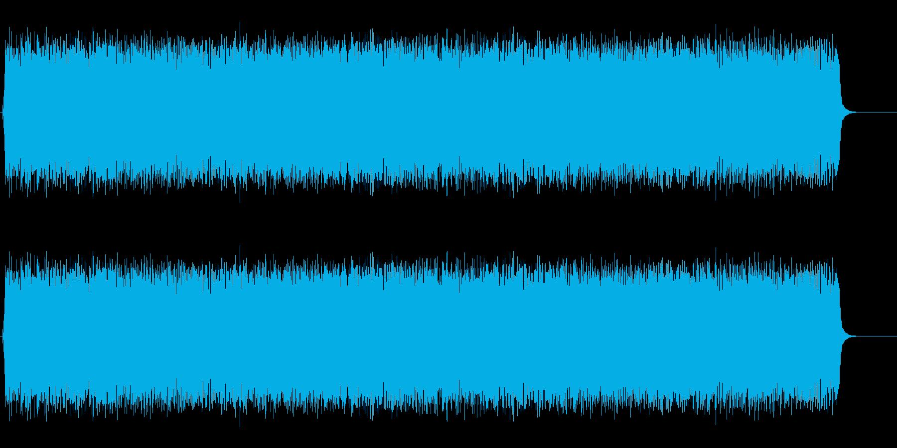 ジリリリリリリリリリン…朝の音の再生済みの波形