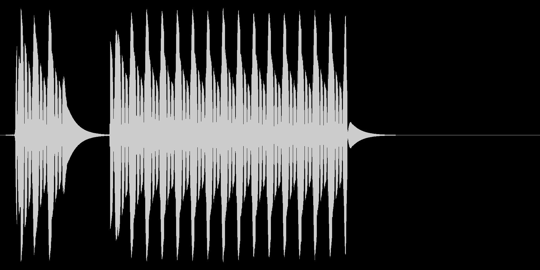 【効果音】クイズ系_はずれ01の未再生の波形