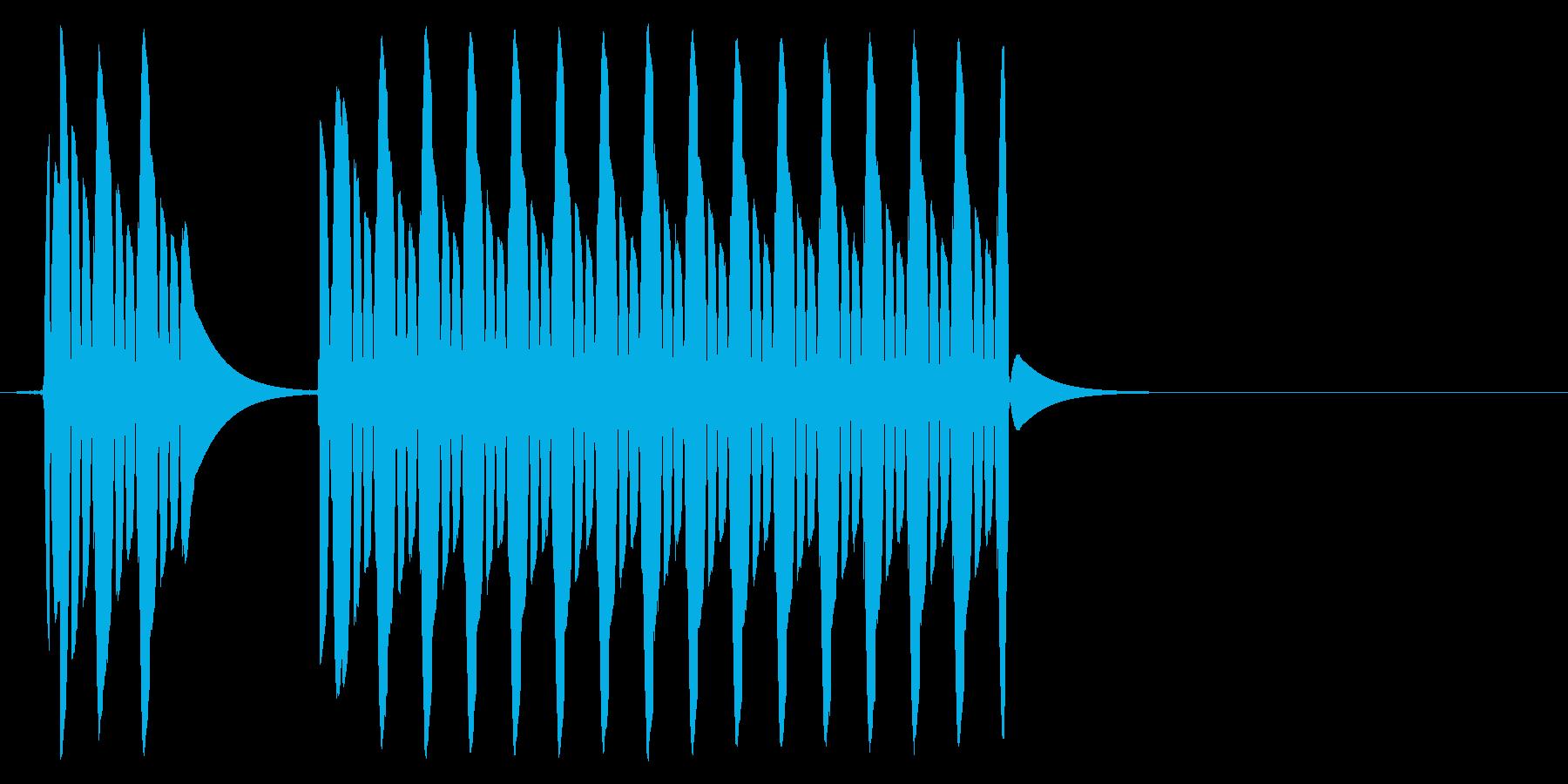 【効果音】クイズ系_はずれ01の再生済みの波形