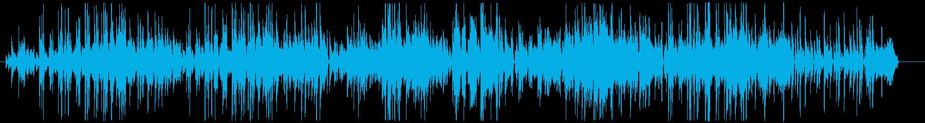 小気味の良いピアノのボサノヴァの再生済みの波形