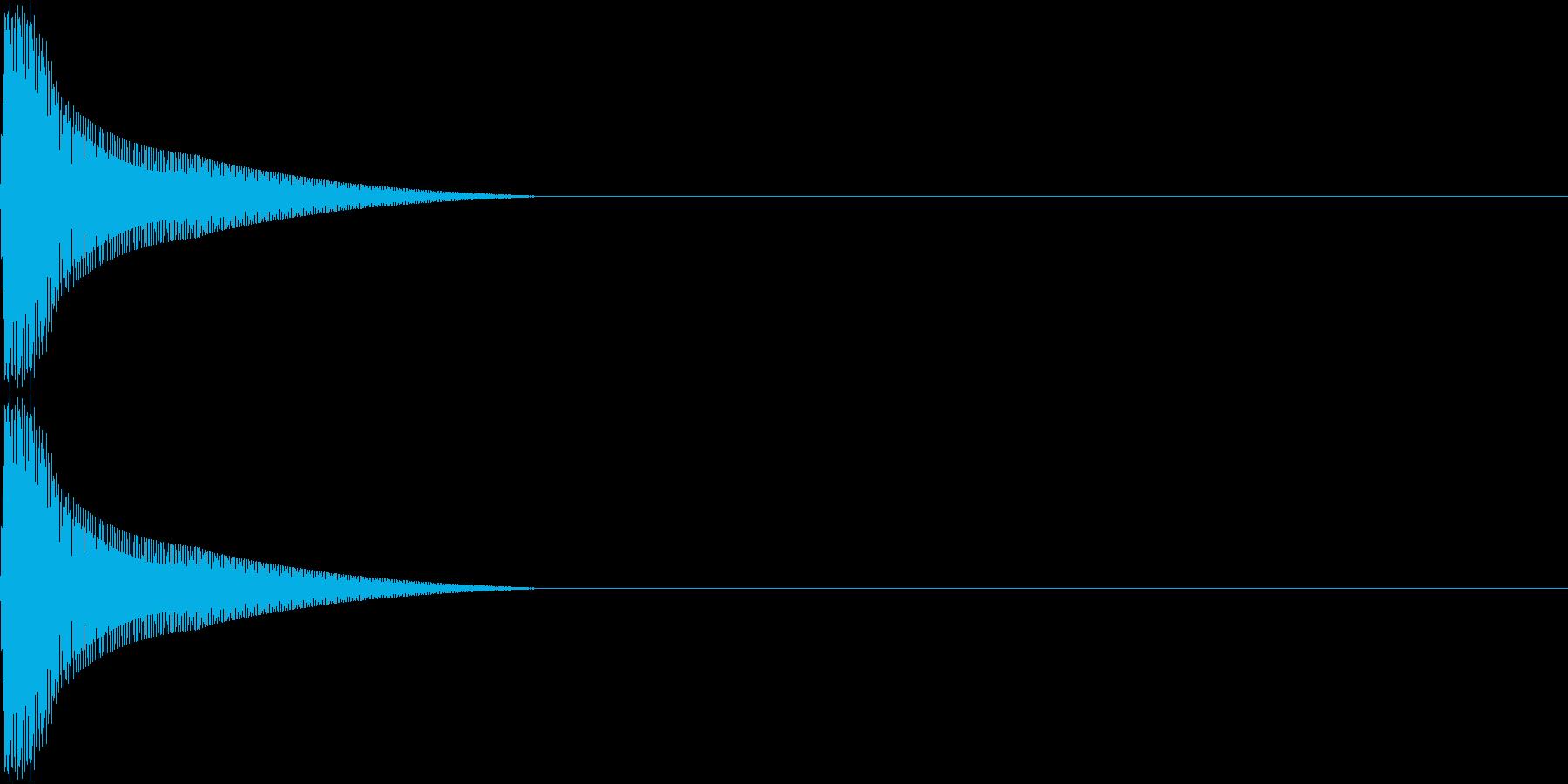 PureTouch アプリ用タッチ音 5の再生済みの波形