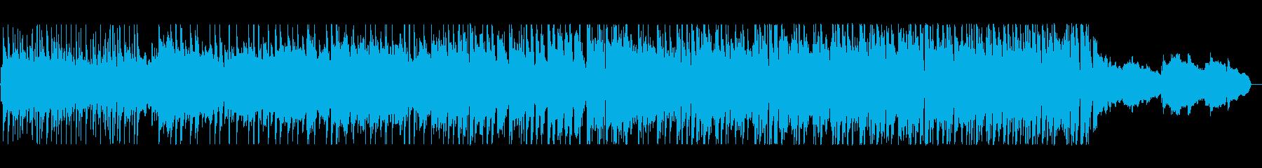 軽やかで穏やかなアコギサウンドの再生済みの波形