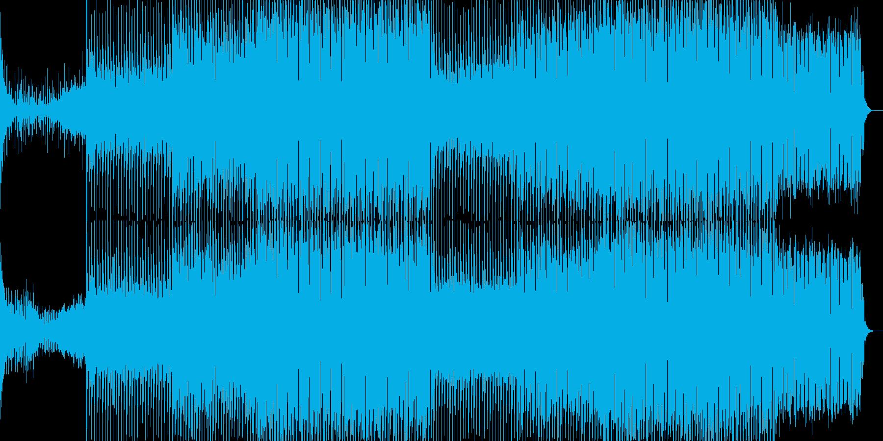 EDMクラブ系ダンスミュージック-40の再生済みの波形