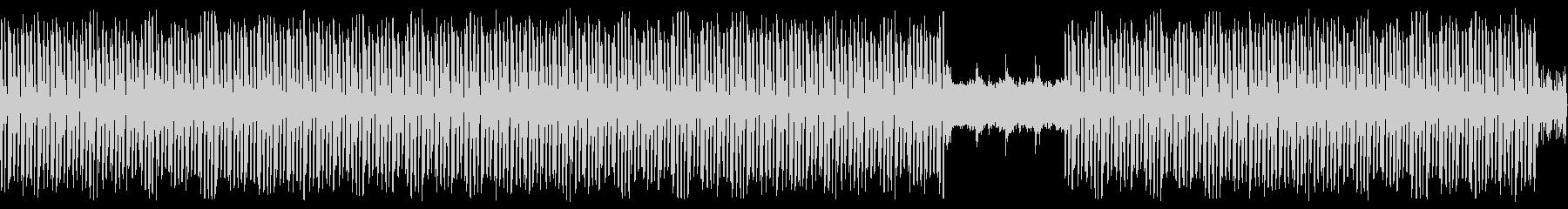 エレクトリックなチューン(ループ可)の未再生の波形
