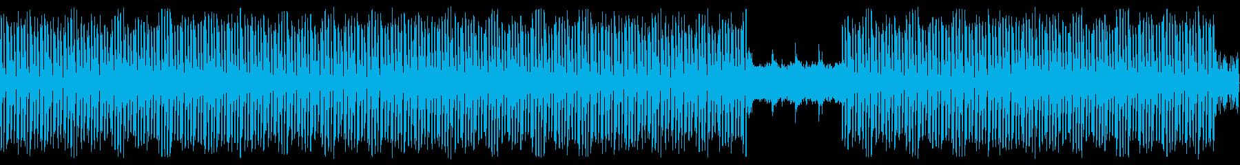 エレクトリックなチューン(ループ可)の再生済みの波形