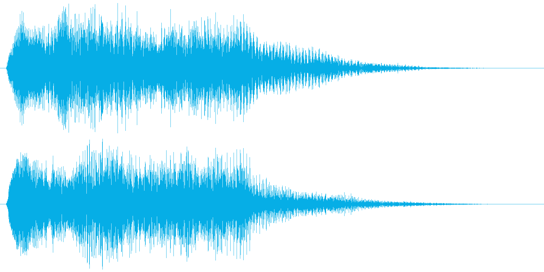 残念、荘厳なゲームオーバー オーケストラの再生済みの波形
