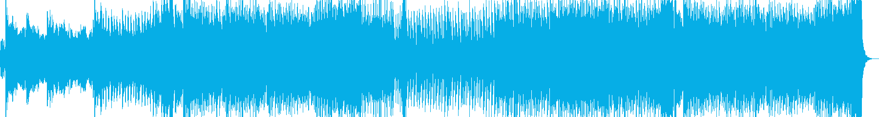 江戸を感じさせる和風ダンスミュージックの再生済みの波形