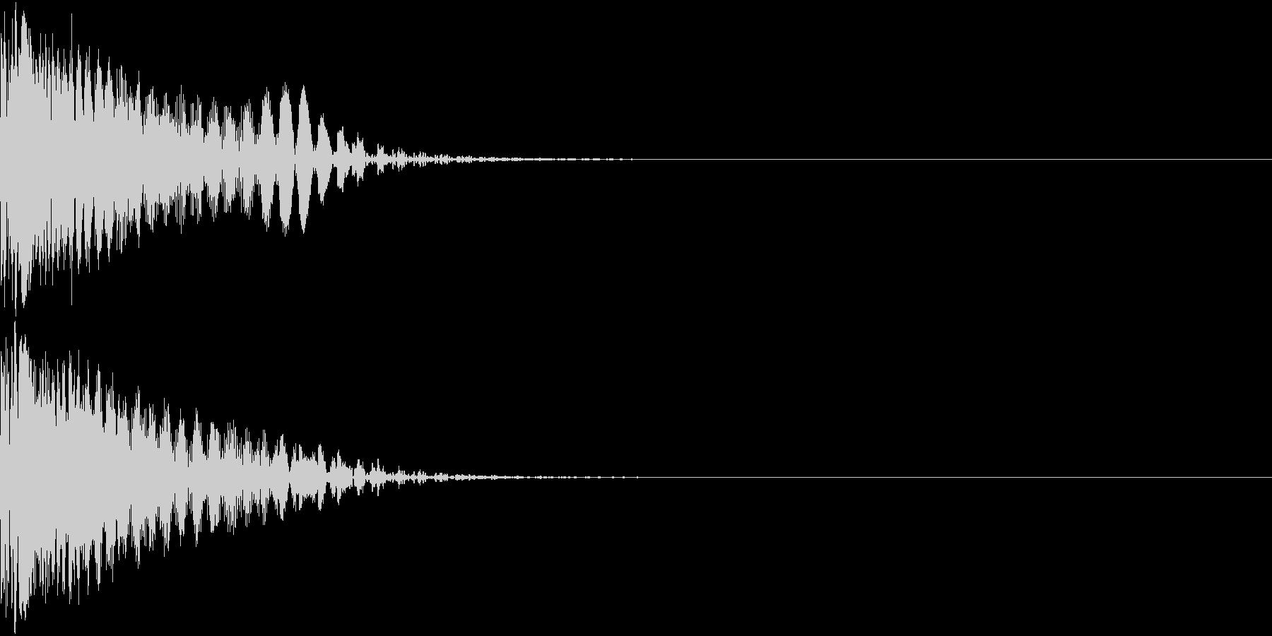 GunMan 高性能レーザー銃 Boomの未再生の波形