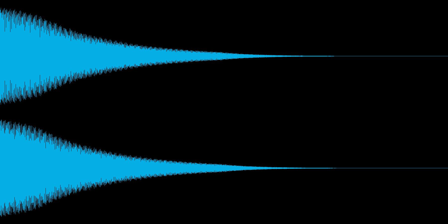 ティーーーン(ベル)の再生済みの波形