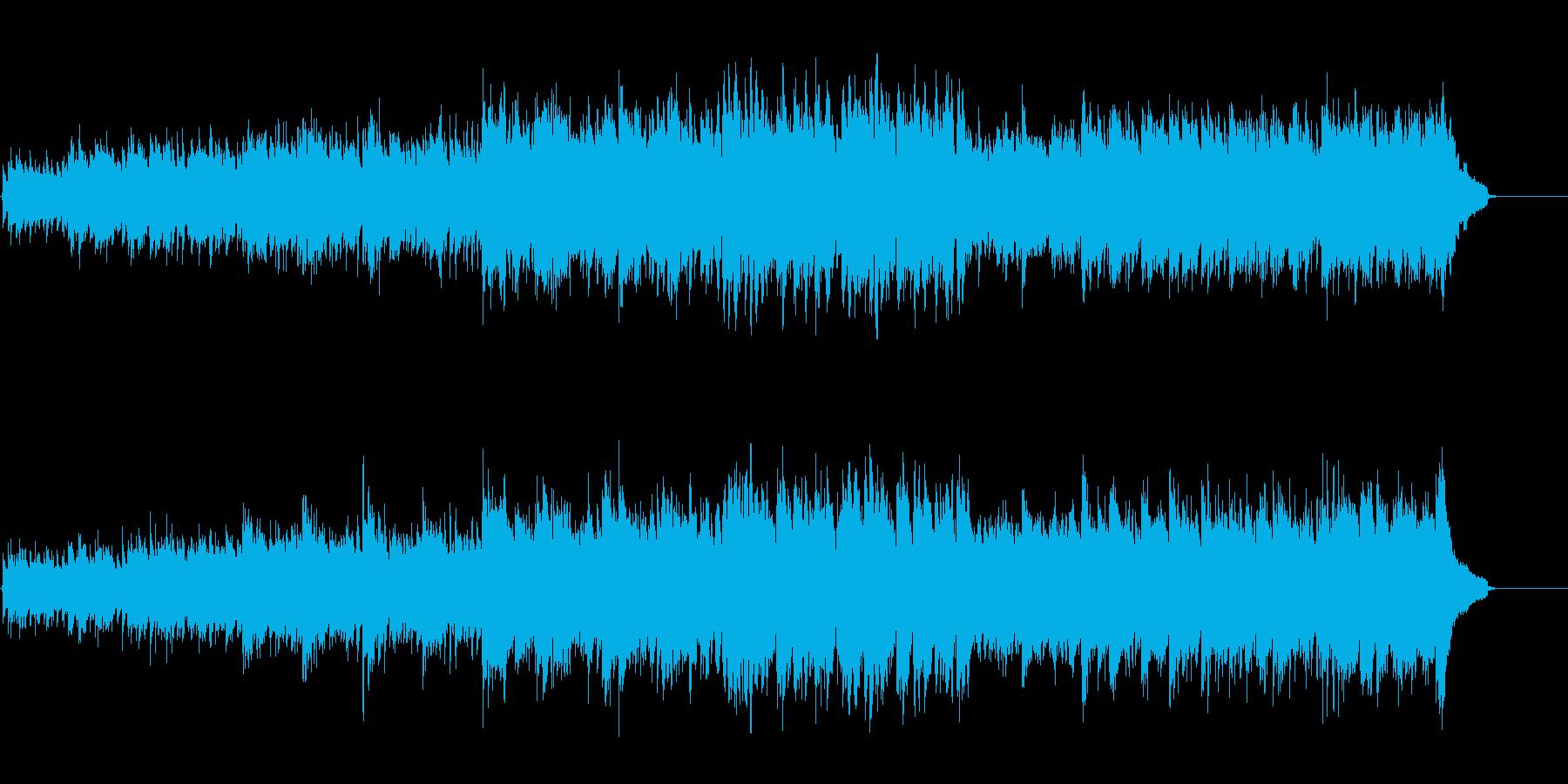 アコースティック感覚のアンビエントの再生済みの波形