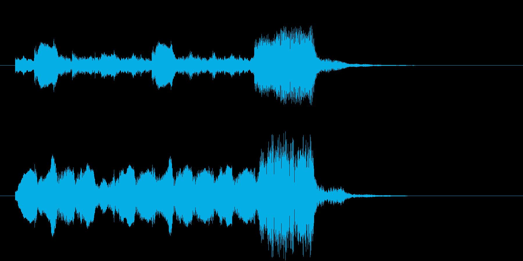失敗・不正解・残念(オーケストラ楽器)の再生済みの波形