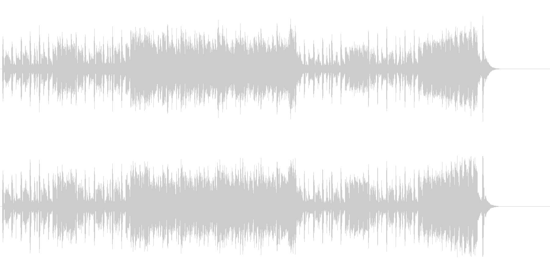ポップ・サウンド(キャッチー&コミカル)の未再生の波形