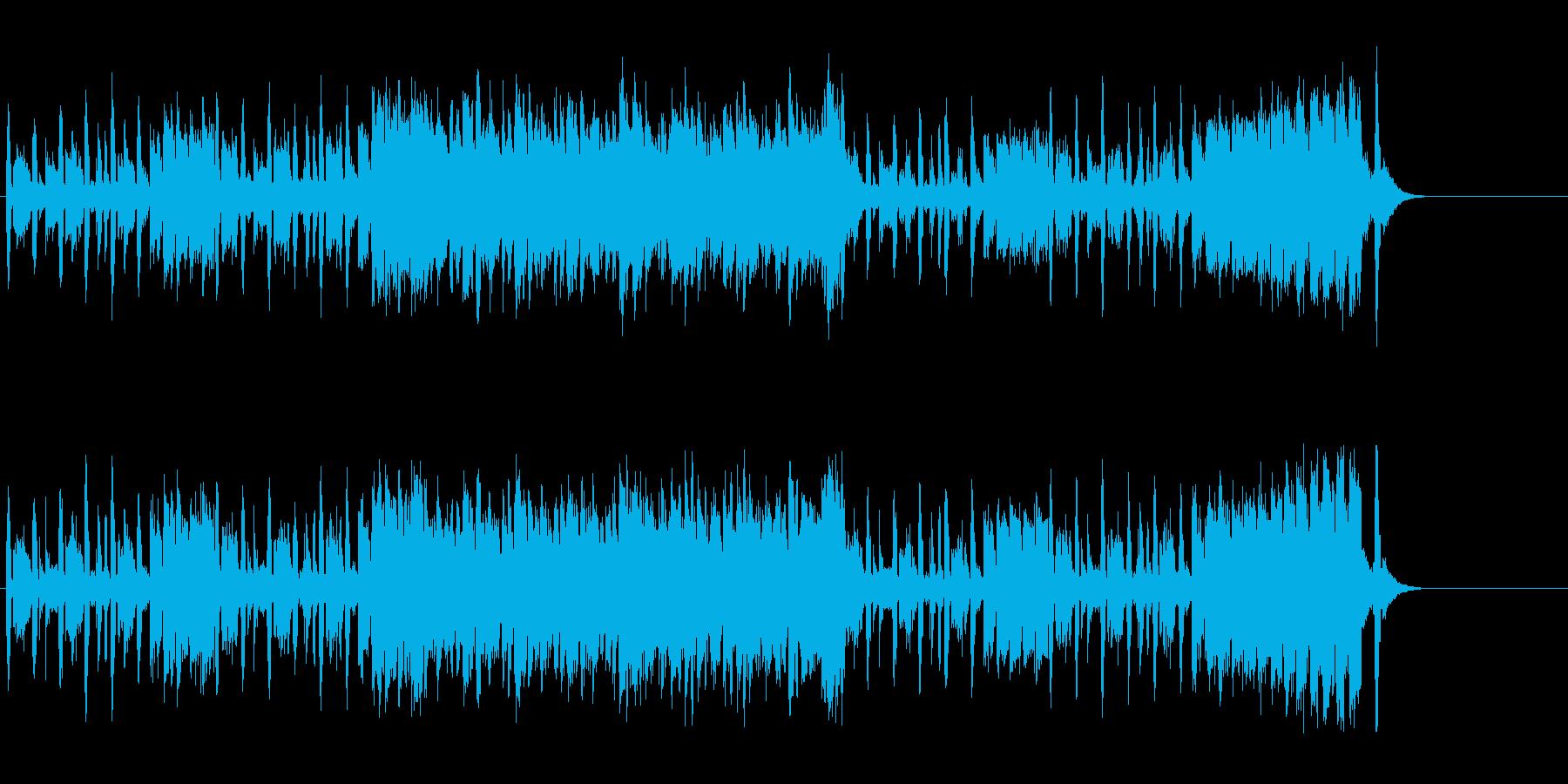 ポップ・サウンド(キャッチー&コミカル)の再生済みの波形