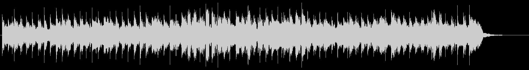 ハーモニカが印象的な軽快なジングルの未再生の波形