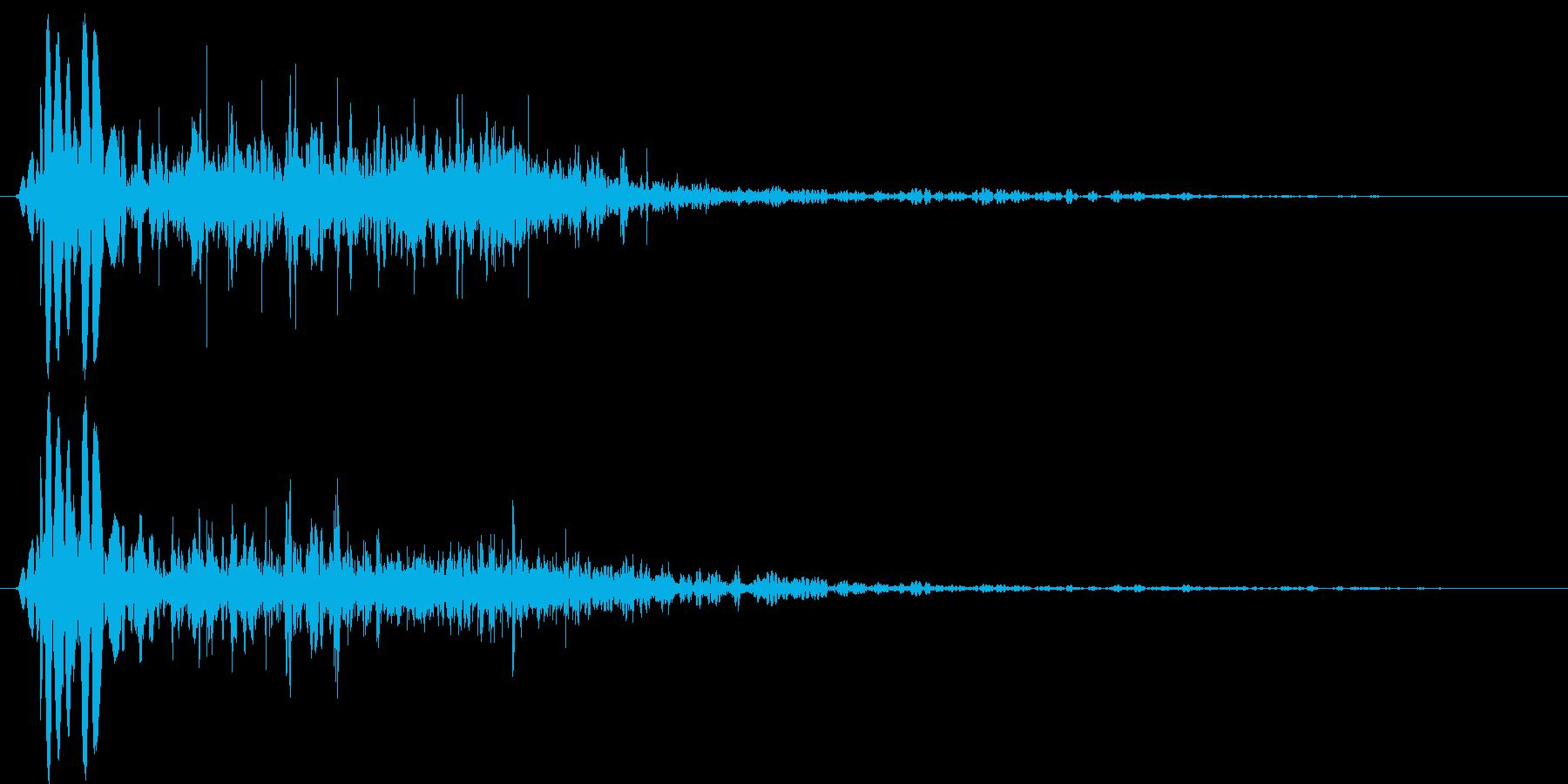 燃え盛る炎・火炎系魔法(中)プレーンsの再生済みの波形