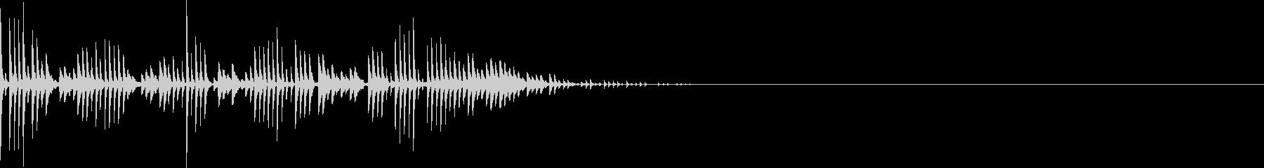 シュワワワ(マイナスイメージ_ミス)の未再生の波形