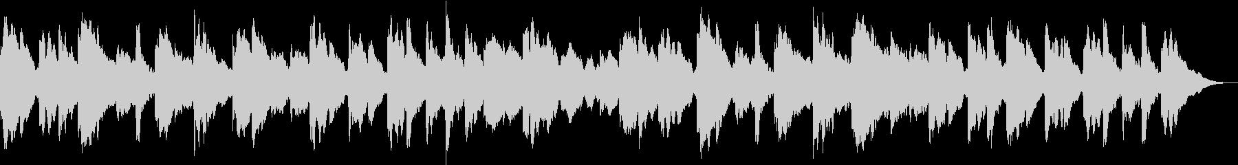 オルゴール(ループ)の未再生の波形