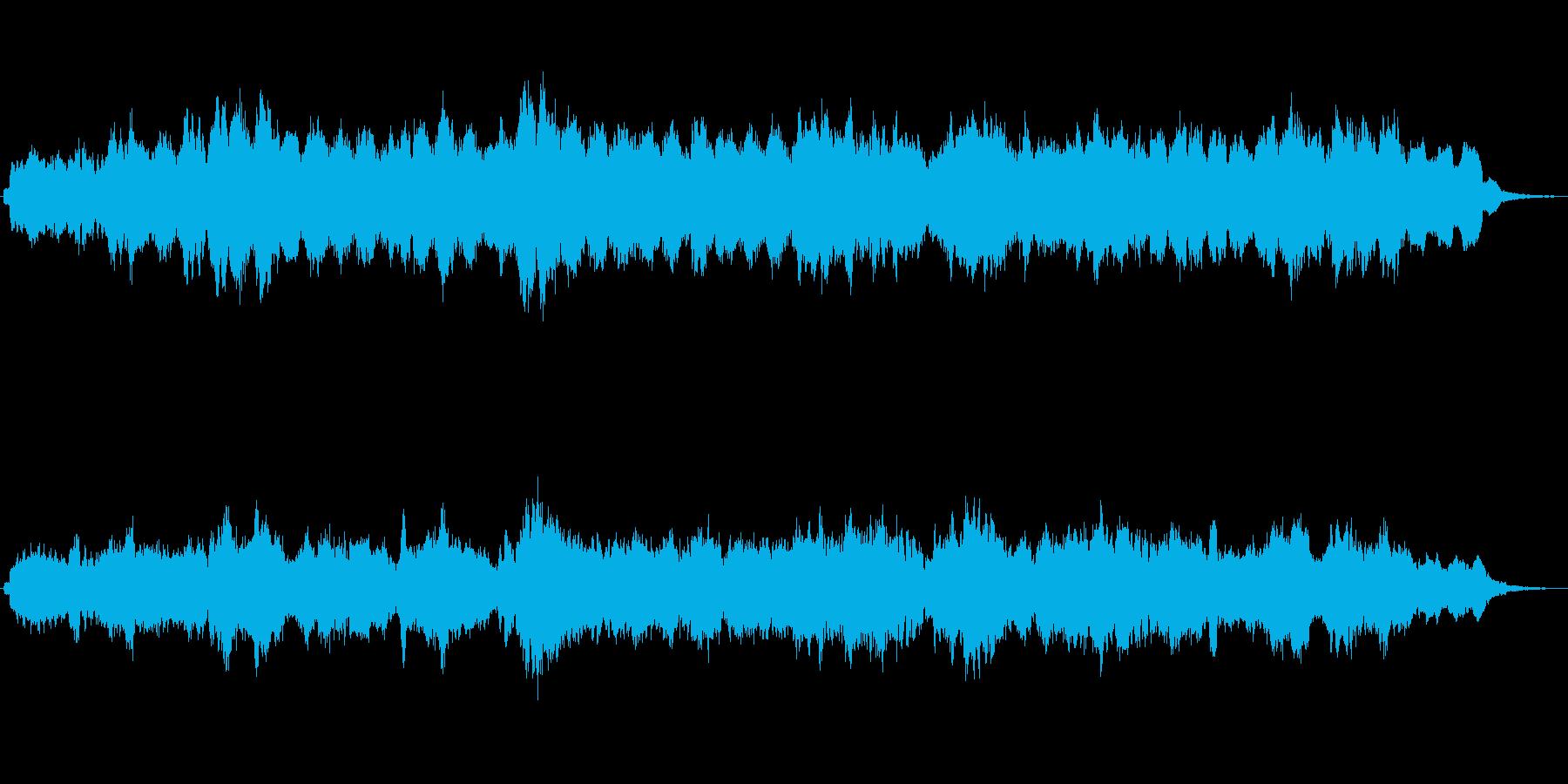 不思議な世界へ誘うようなジングル2の再生済みの波形