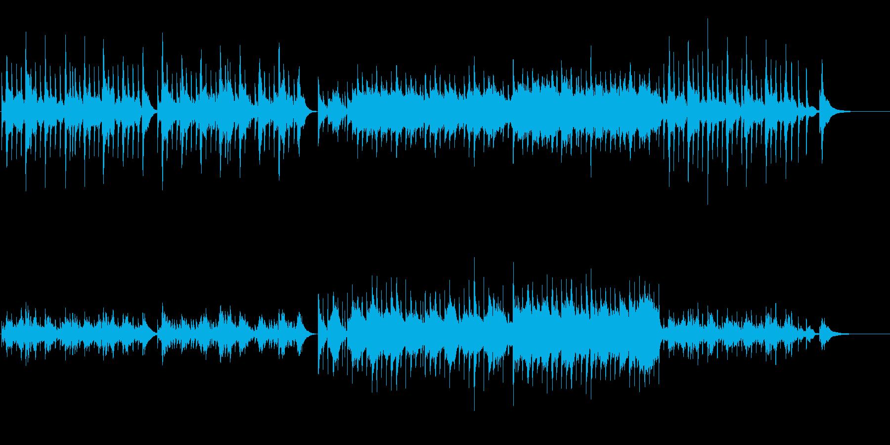 寂しいクリスマス(オルゴール&木管)の再生済みの波形