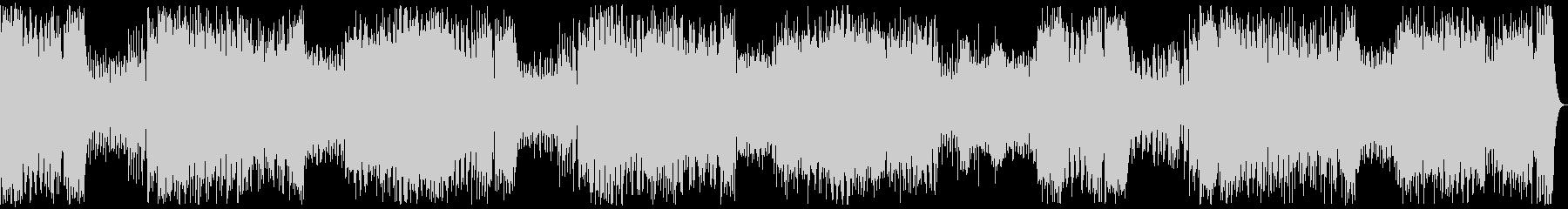 交響曲第25番K.183 リズム入りの未再生の波形