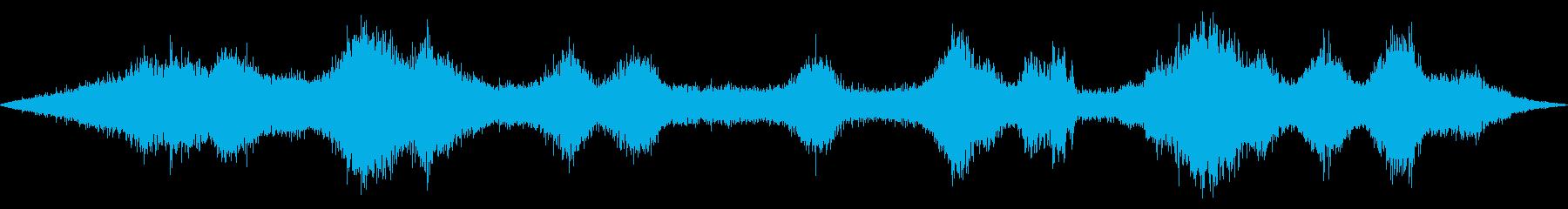 交差点の音 車や信号・雑踏等 その3の再生済みの波形