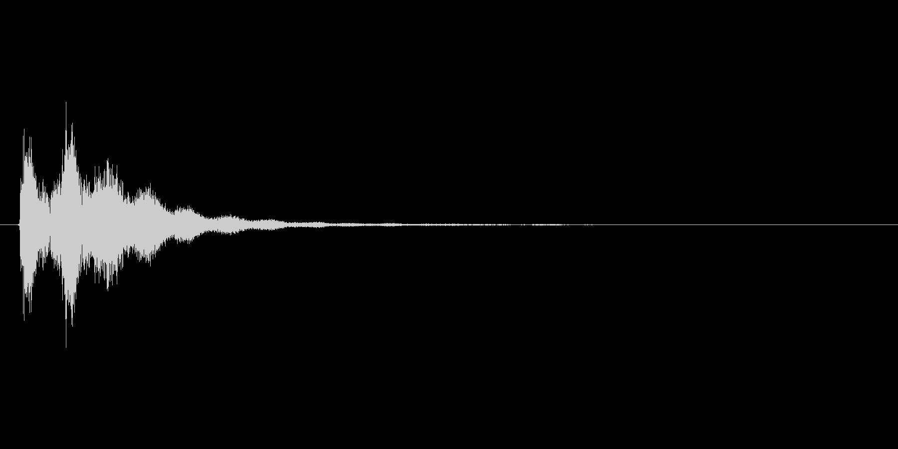 テテン(バリアを張る、魔法、補助)の未再生の波形