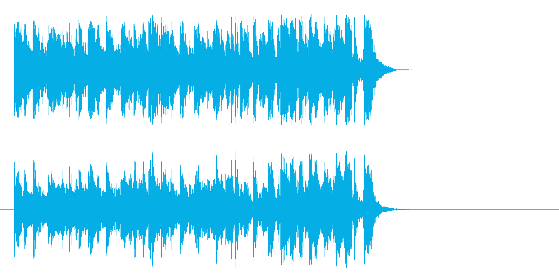 悪さする様なポップ(イントロ)の再生済みの波形