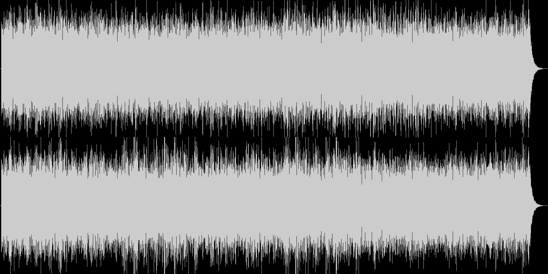 ゆったりとした洋のイメージの曲の未再生の波形