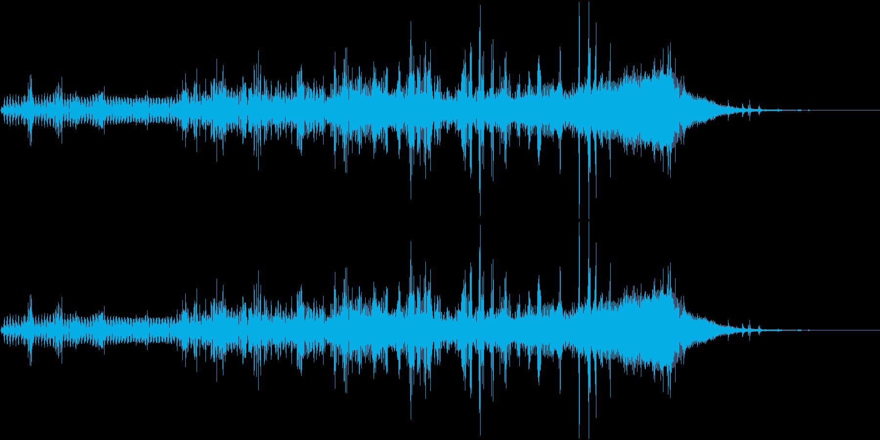 【SE 効果音】不気味な音2の再生済みの波形