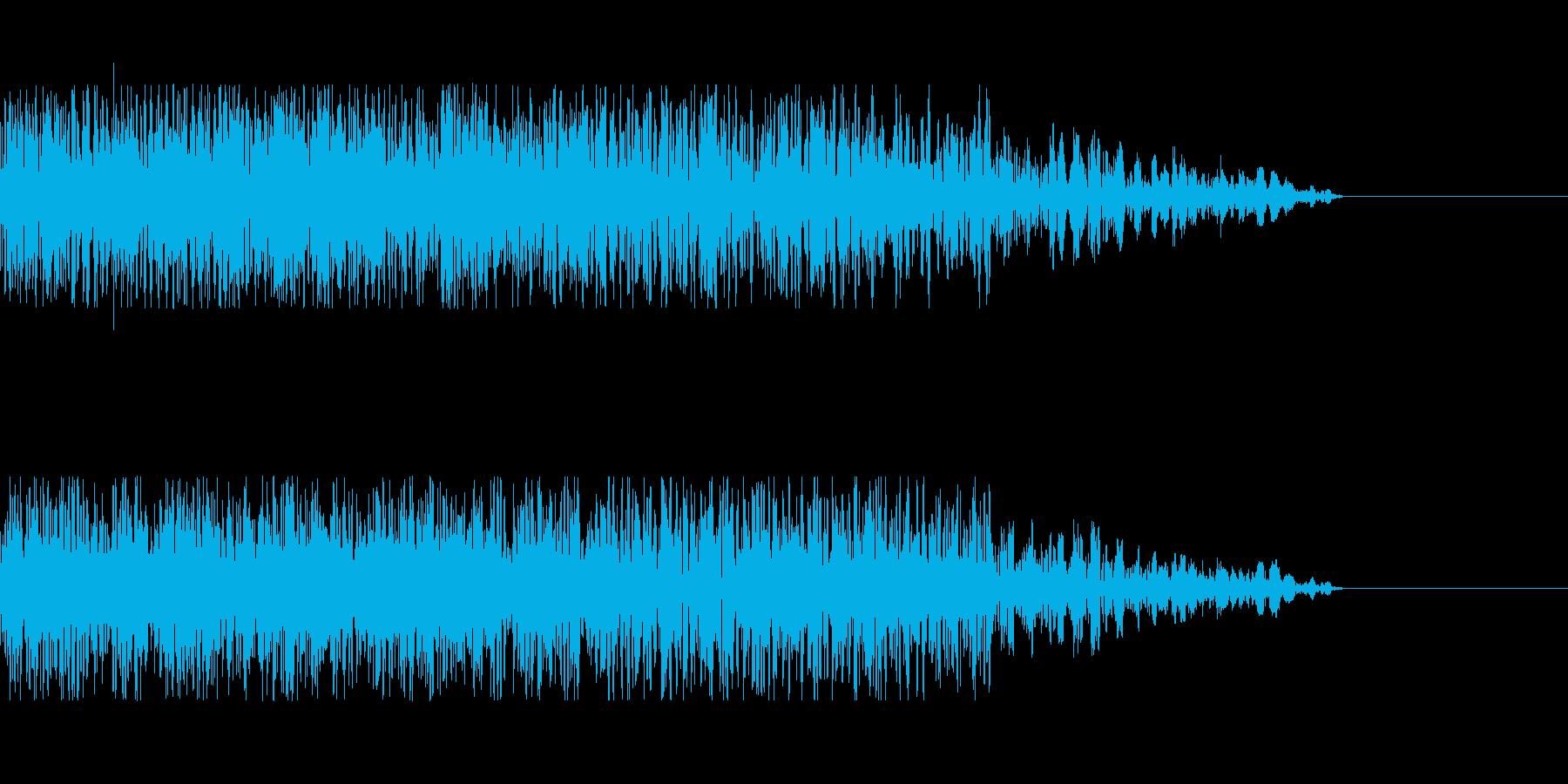 着弾 爆発などにの再生済みの波形