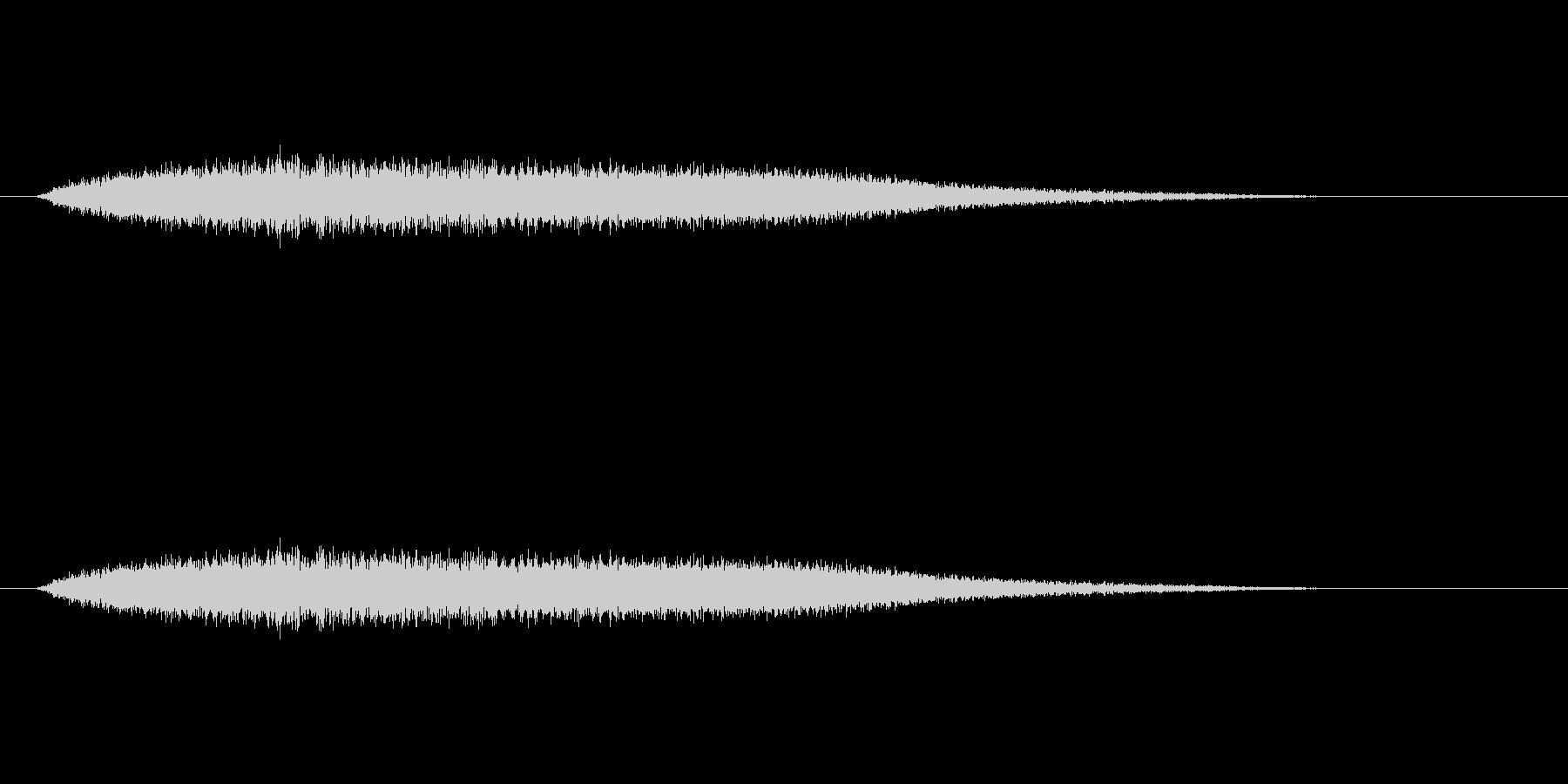 【風 合成02-6】の未再生の波形