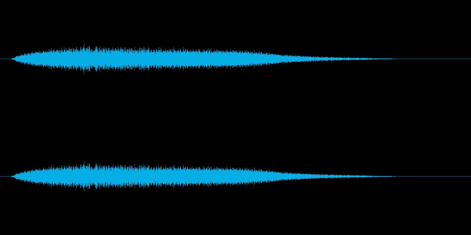 【風 合成02-6】の再生済みの波形