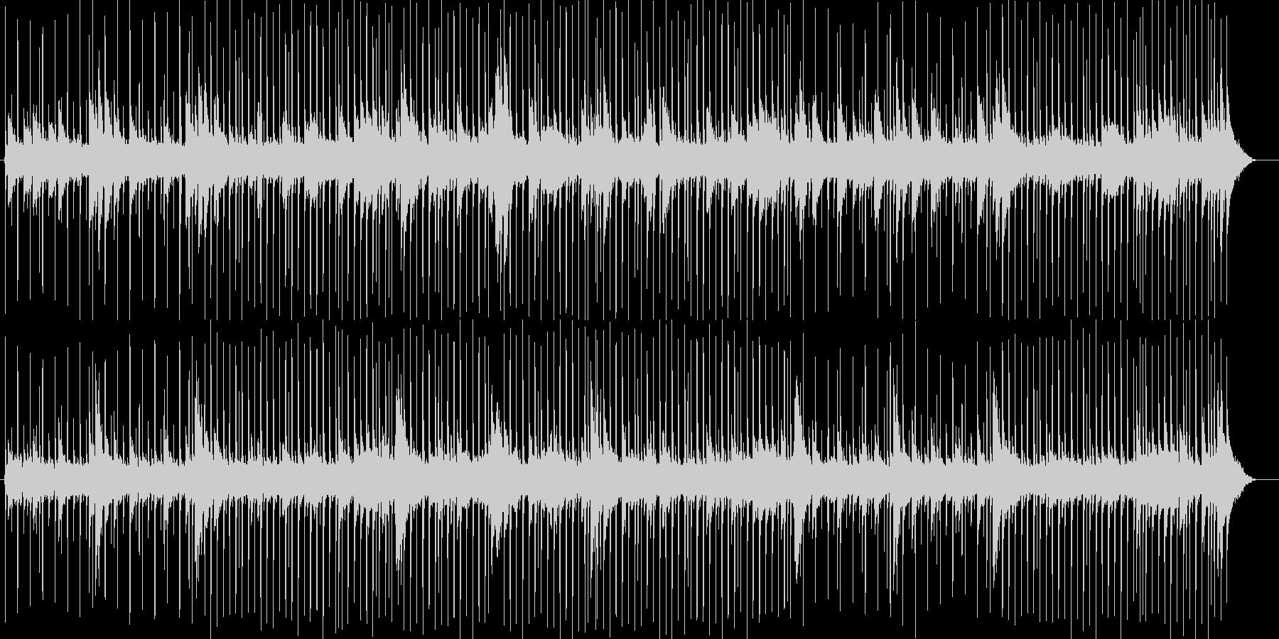 ロマンチックで力強いピアノポップスの未再生の波形