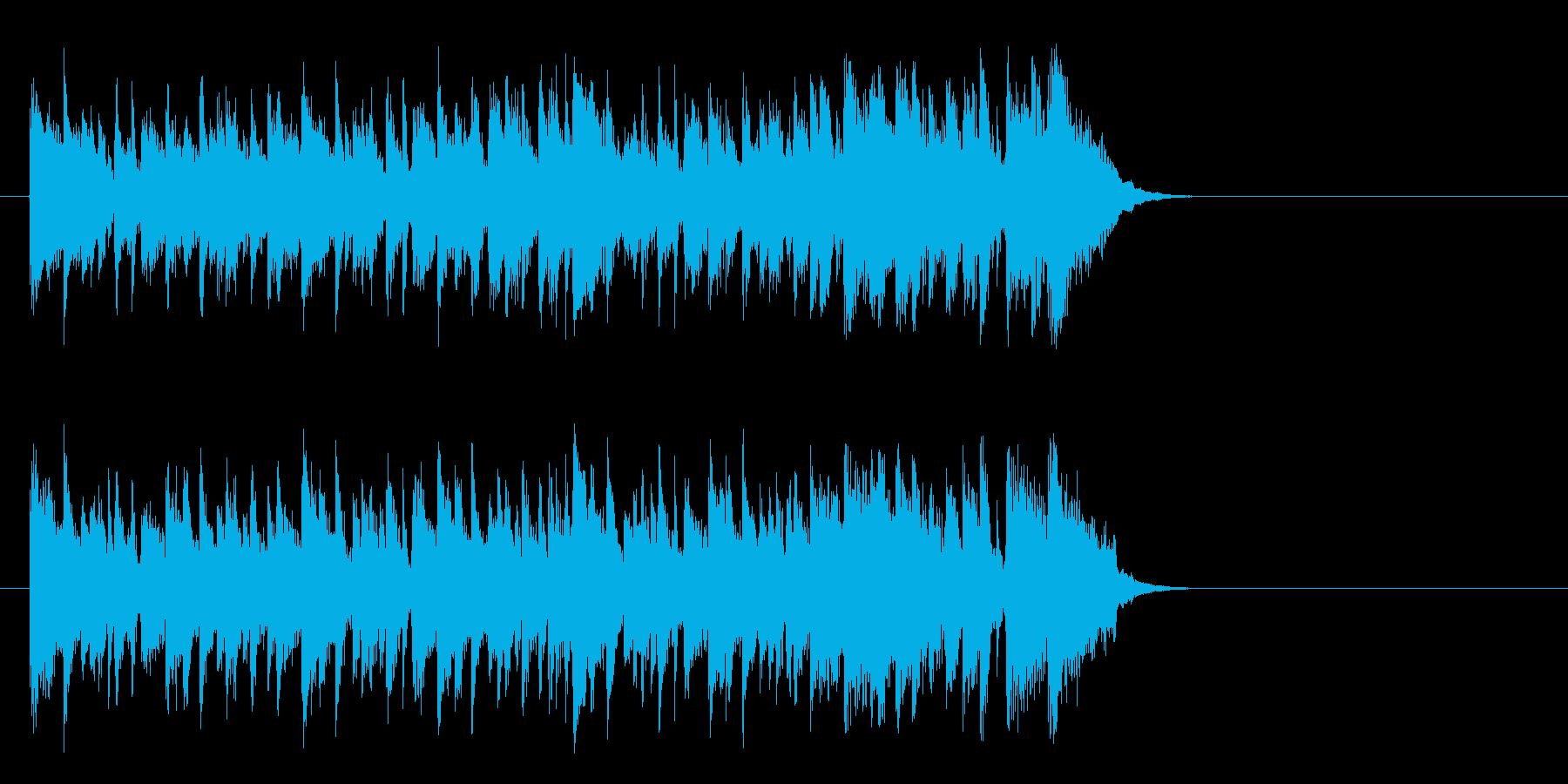 リゾート風なフュージョン(イントロ)の再生済みの波形