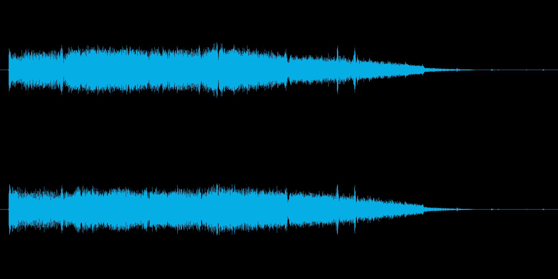 ホラーな音です。の再生済みの波形