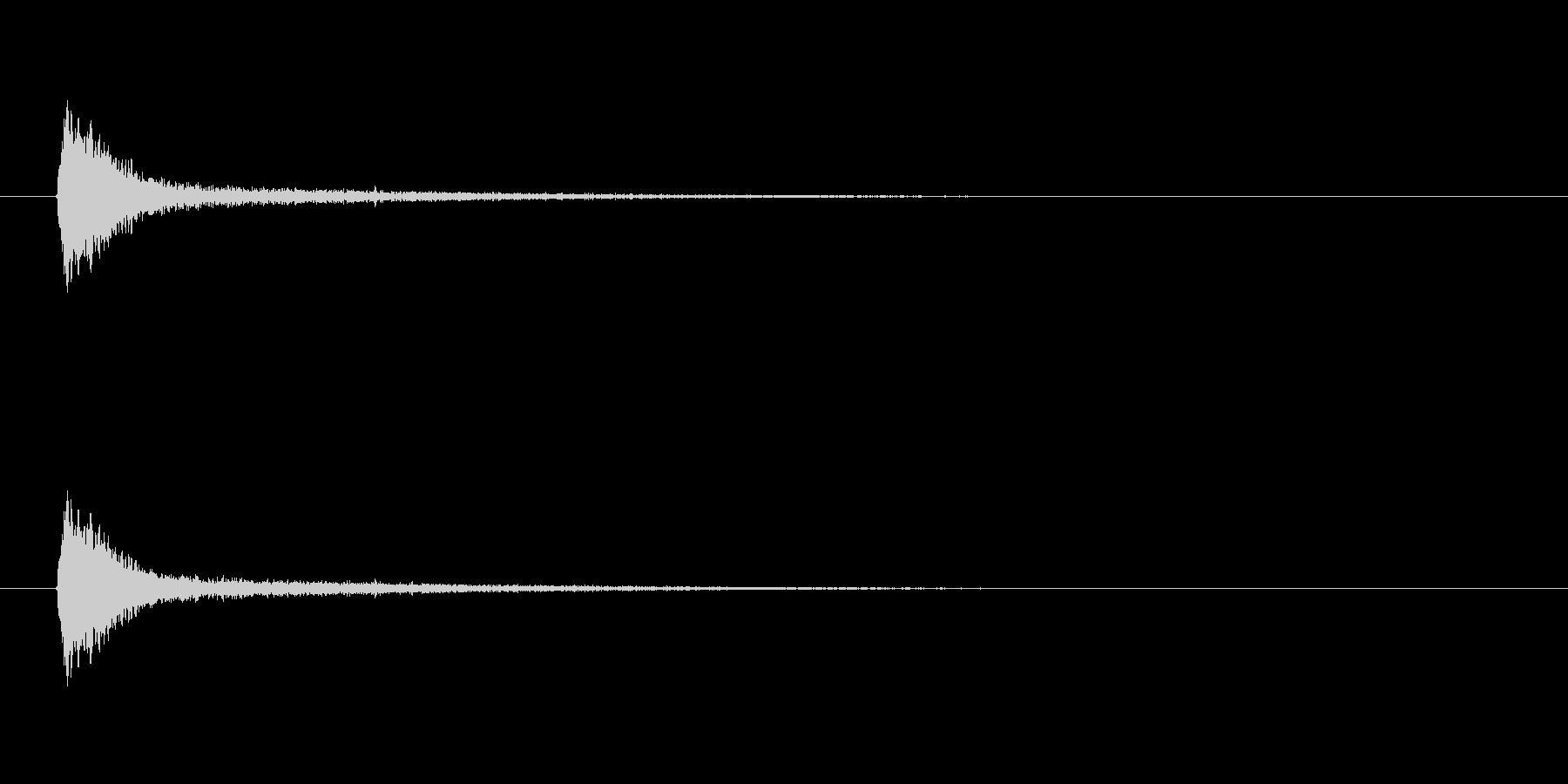 【風船 破裂01-3】の未再生の波形