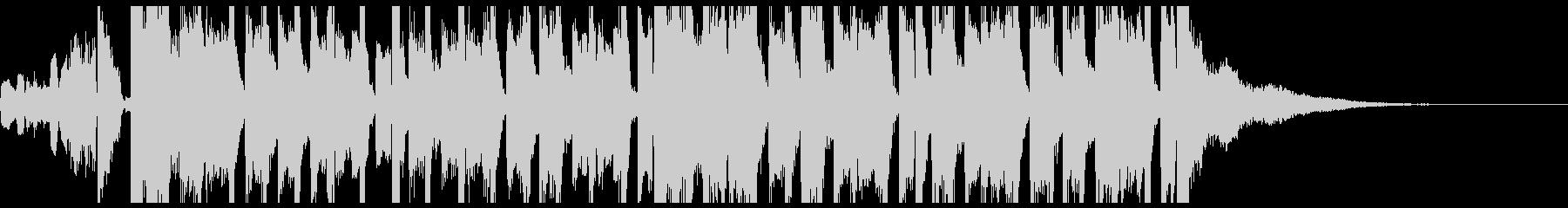 ファンキーで弾みあるエレクトロジングルの未再生の波形