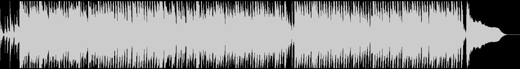ほのぼの・コミカルなBGMの未再生の波形