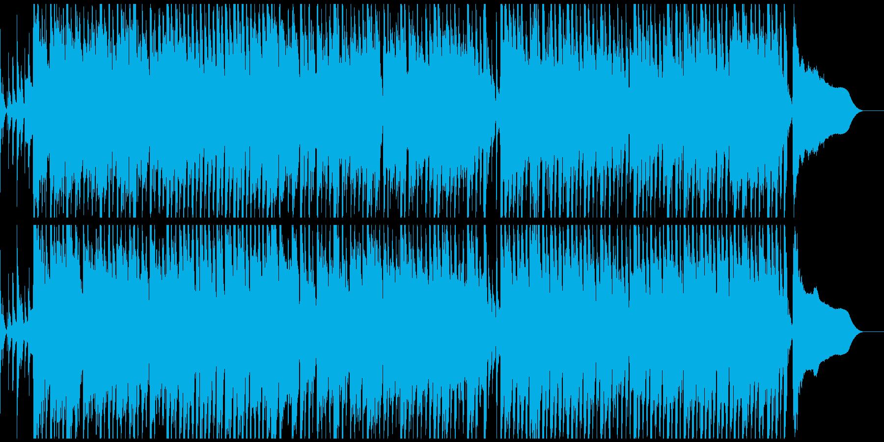 各種映像に。コミカル、ほのぼの、ウクレレの再生済みの波形