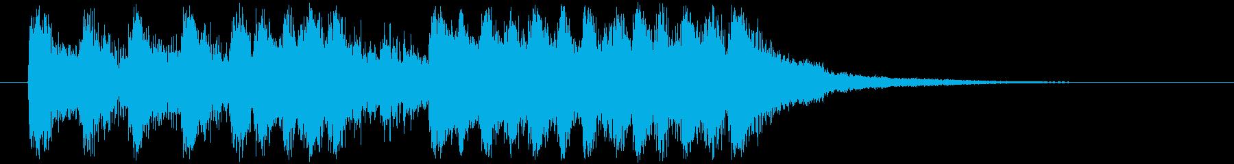 オーケストラロックの壮大なサウンドロゴ!の再生済みの波形