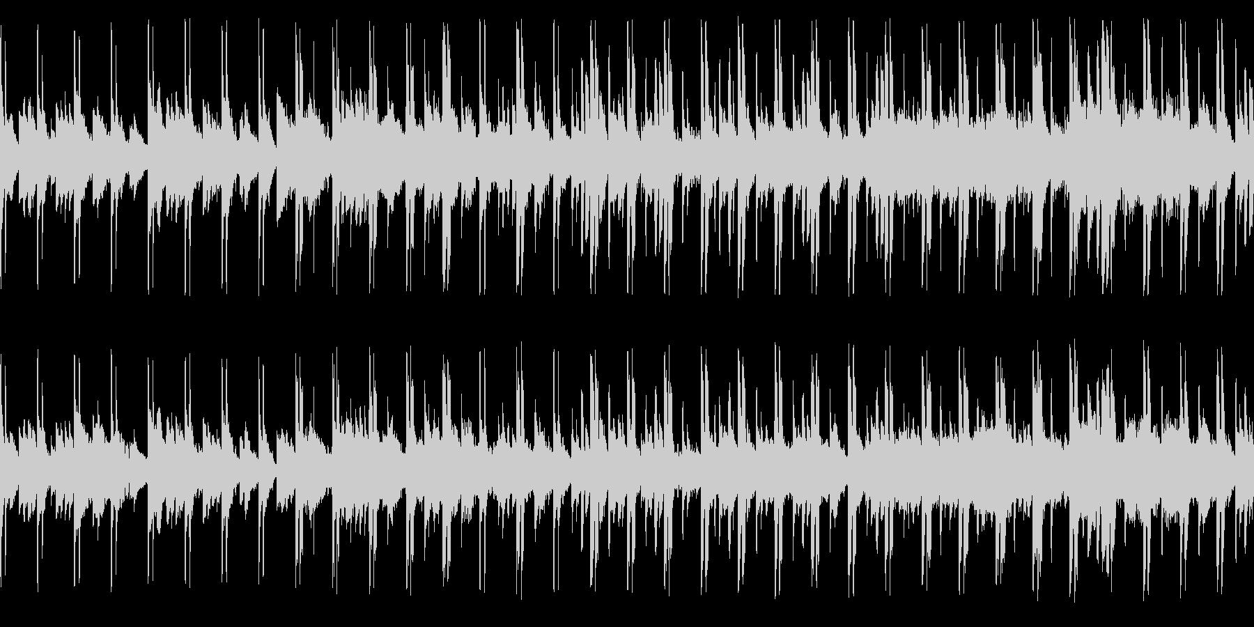 教会旋法ドリアを使った独特の響きです。の未再生の波形