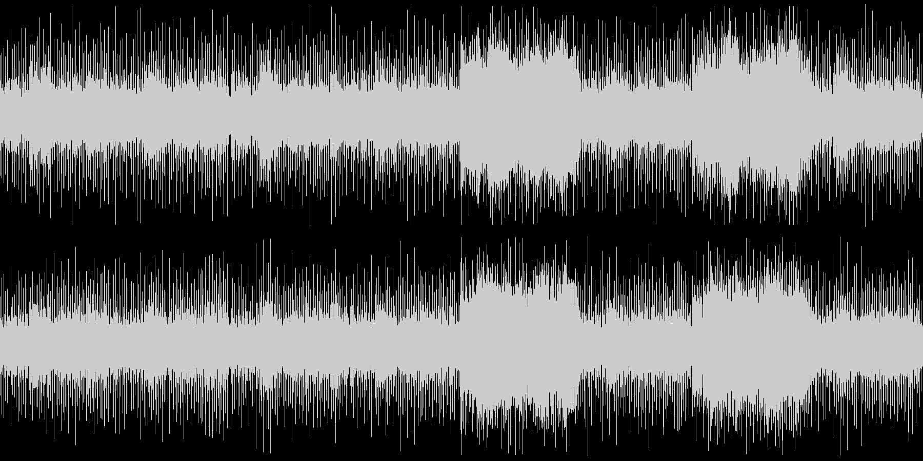 ホラー/オルゴール/緊張感/謎ミステリーの未再生の波形