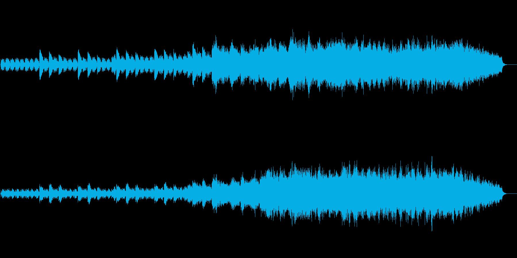 チェレスタが印象的な幻想的な曲の再生済みの波形