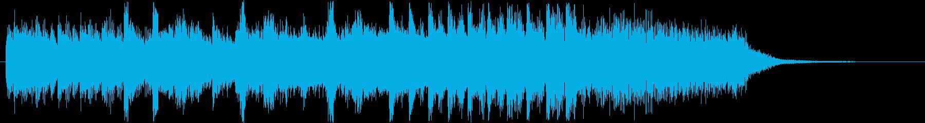 コミカルなシンセ・打楽器など短めの再生済みの波形