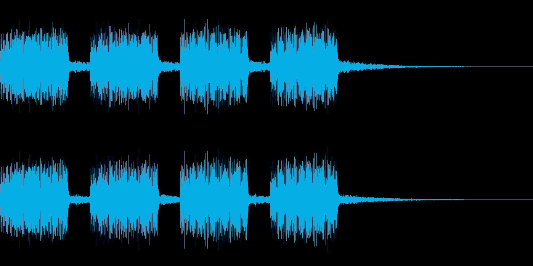 ボス登場アラームお知らせ音 ビービーの再生済みの波形